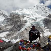 Everest base camp 5360 meters