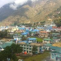 Namche bazaar, Everest base camp trek