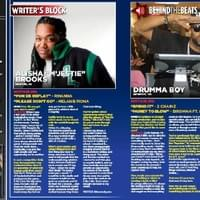 Alisha M'Jestie Brooks inside Hip Hop Weekly