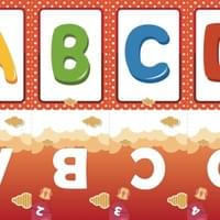 Alphabet Slides | Big letters
