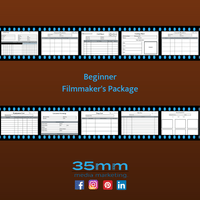 Beginner Filmmaker's Package Etsy Product