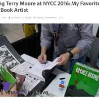 Meeting Terry Moore at NYCC 2016: My Favorite Comic Book Artist