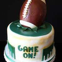 Game On Football Cake