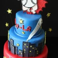 Captain Underpants Cake