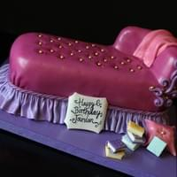 Princess Chaise Lounge Cake