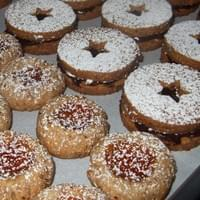 Jam filled Thumbprint & Linzer Cookies