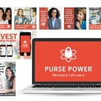 Purse Power material as Consociate Media employee