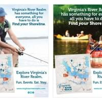 Virginia's River Realm posters as Consociate Media employee