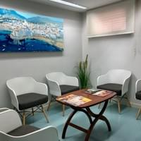 waiting room of the best ent in barcelona