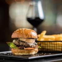 PASTURE FED BEEF BURGER with Foie Gras