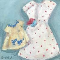 Bird dress & Polka dot dress
