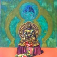 Buddha with Candy Offering