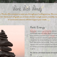Reiki with love, Wendy Welton