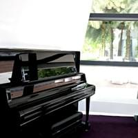 piano room - open daily from 7:00am to 10:00pm