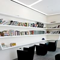 reading room  - open daily from 7:00am to 10:00pm