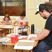 Art class at Multi-Arts summer camp