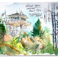 Keller Peak Fire Lookout