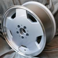 Mercedes Aero replica wheel, 17x8, ET+11 & ET+28 - 17x9, ET 0, 5x112 PCD, 66.6mm HUB.