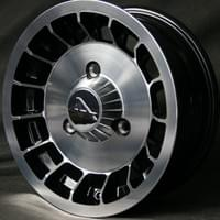 Renault Alpine replica wheel, 13x5.5, 3x130 PCD, ET+52, 71.6mm HUB.