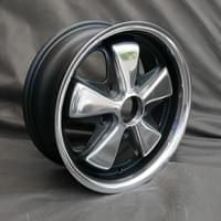 Fuchs Replica  Deep Six,  6x15 ET+36, RSR Finish.  Also available in 911R spec, 15x7, ET +47,