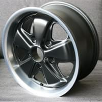 Fuchs Replica, Deep Six, 15x6 ET+36 .  Also available in 911R spec, 15x7 ET+47