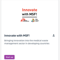 Innovate with MSF