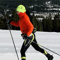 This sport is one of my passions! I love cross-country skiing, and I enjoy doing races, just for fun! :)