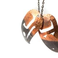 Eagle Necklace in Copper