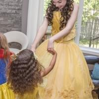 Princess Super Hero Character Performer Kids Birthday Party in Edmonton