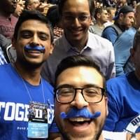 Duke B-ball !!! - with Lefko and Adil 11/2017