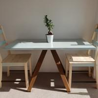 Australian hardwood table
