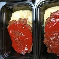 Vegan Meatloaf with Mash