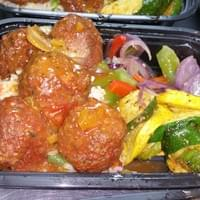 Vegan Sweet & Sour Meatballs