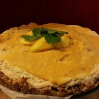 Vegan Raw Mango Cheese Cake