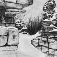 Kiln Ruins, Winter
