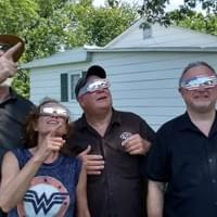checking out the eclipse - aug 21, 2017