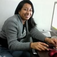 Rosa who is studying - Business Administration