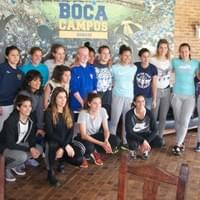 Samantha with Boca Women's 1st Team