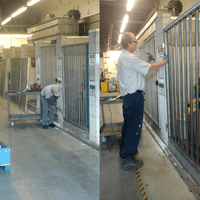 % Steel Gates Installation