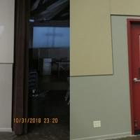 Sunday School Door Install