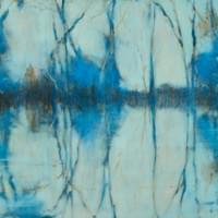 Rhapsody in Blue 48 x 24""