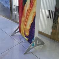 China Manufacture Large Customized Size Frameless Fabric LED Advertising Light Box