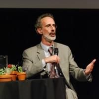 Peter H. Gleick at the Boston Science Museum. Photo by David Rabkin, 2015
