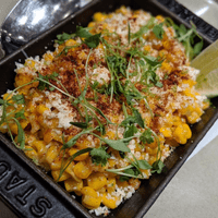 Mexican style street corn- esquites