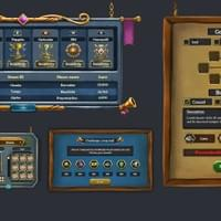 Warriors- Rise to glory: Selected menus