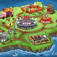 SKL Zone- Sports world map