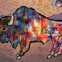 Lone Bison /SOLD