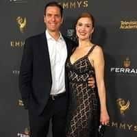 Sam Sokolow and wife Julia at 2018 EMMY Awards