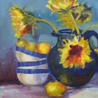 Sun Flowers and Lemons