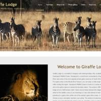 Giraffe Lodge